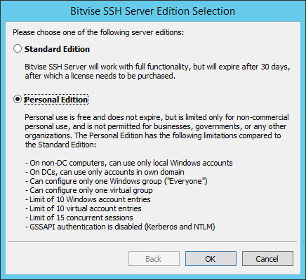 Bitvise SSH Server для Windows   internet-lab ru