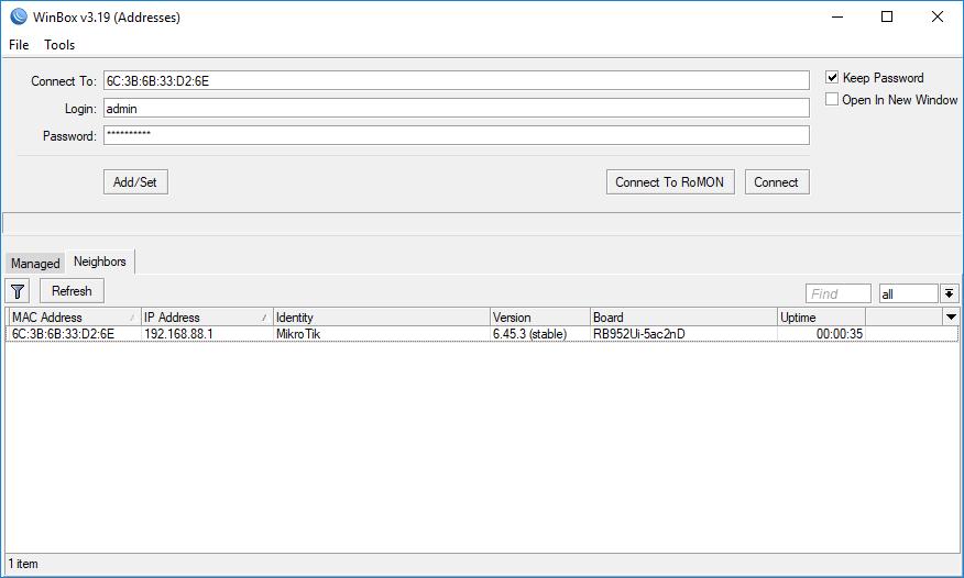 mikrotik upgrade firmware 3.41 to 6.41.1
